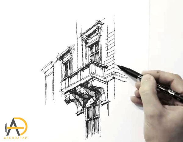 نمونه نکات طراحی معماری