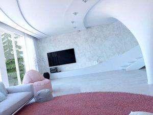 طراحی داخلی منزل ویلایی مدرن و بینظیر در سیرجان