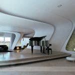 طراحی داخلی آپارتمان مسکونی پارامتریک در تهران
