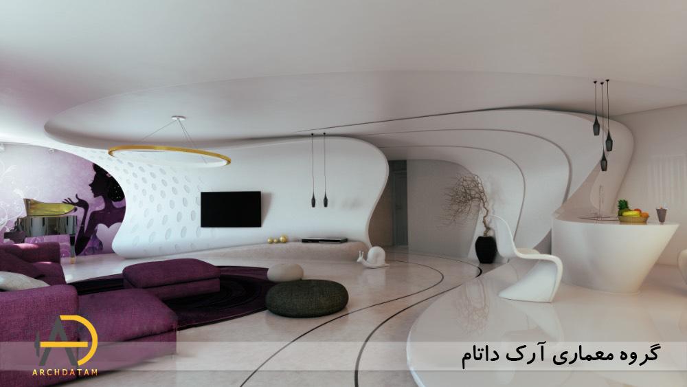 معماری داخلی منزل مسکونی